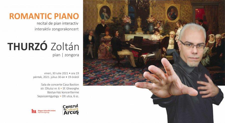 ROMANTIC PIANO, la Centrul de Cultură Arcuș