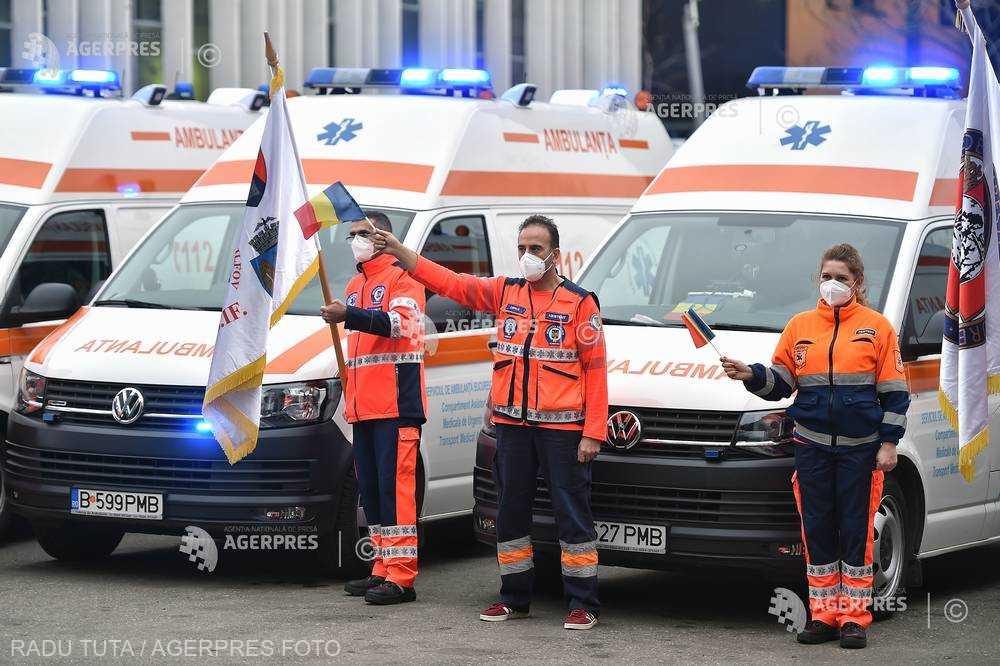 Ziua Naţională a Ambulanţei; sirenele vor suna la ora 10,00 în toată ţara