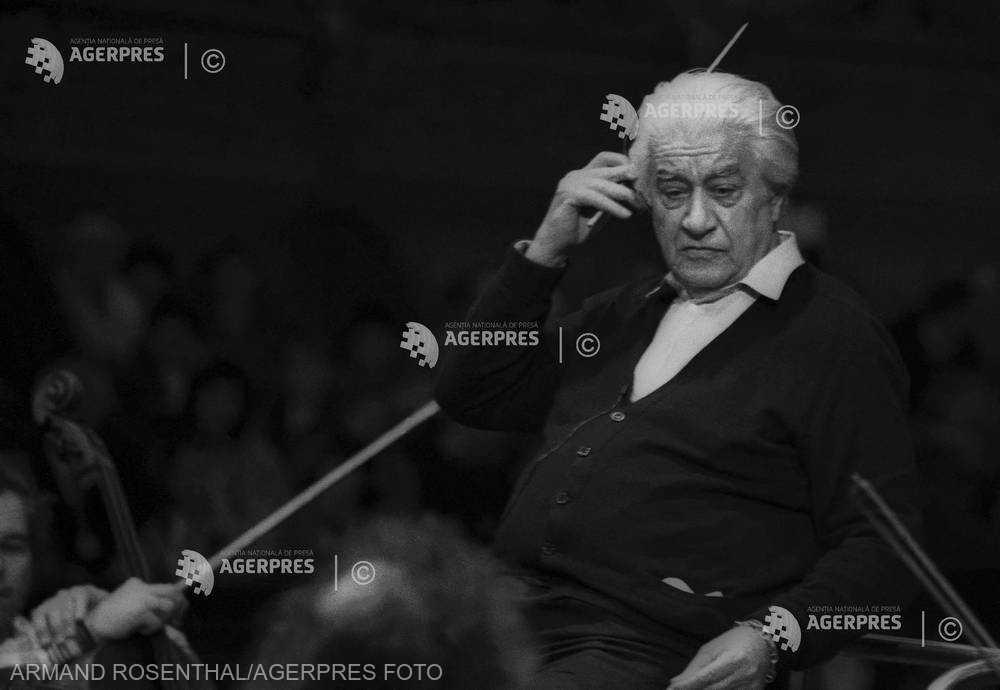 DOCUMENTAR: 25 de ani de la moartea dirijorului şi compozitorului Sergiu Celibidache (14 august)