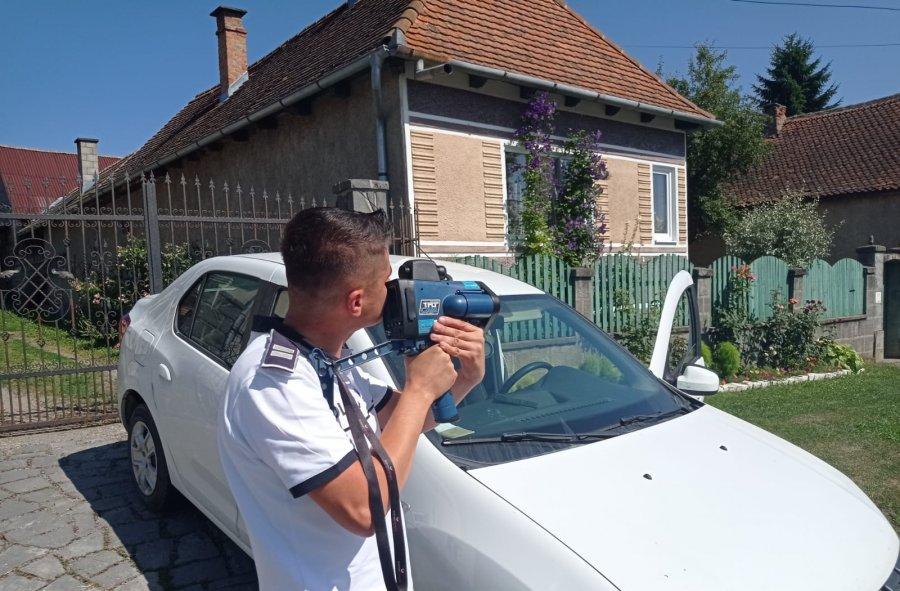 Sancțiuni aplicate și infracțiuni rutiere constatate de polițiștii covăsneni