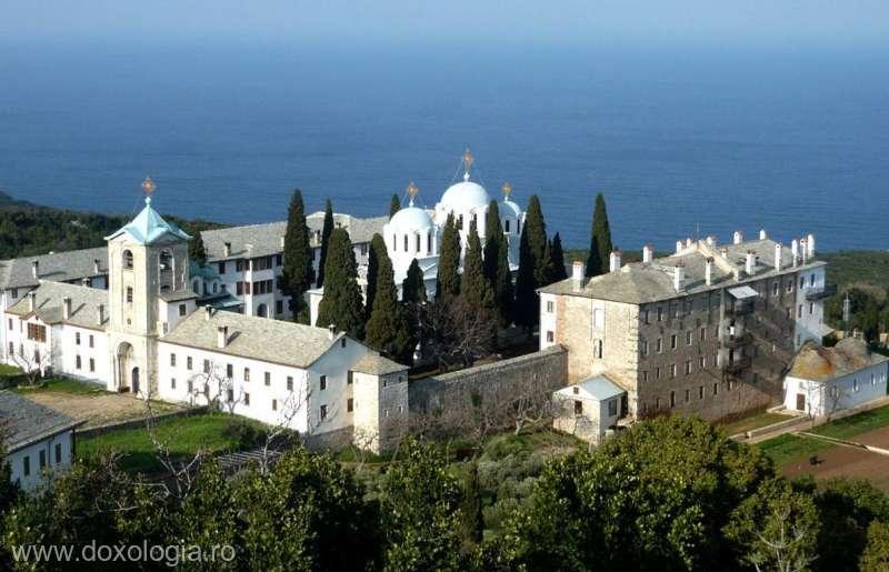 BISERICI ŞI CATEDRALE: Schitul Prodromu - Aşezământ românesc din Muntele Athos
