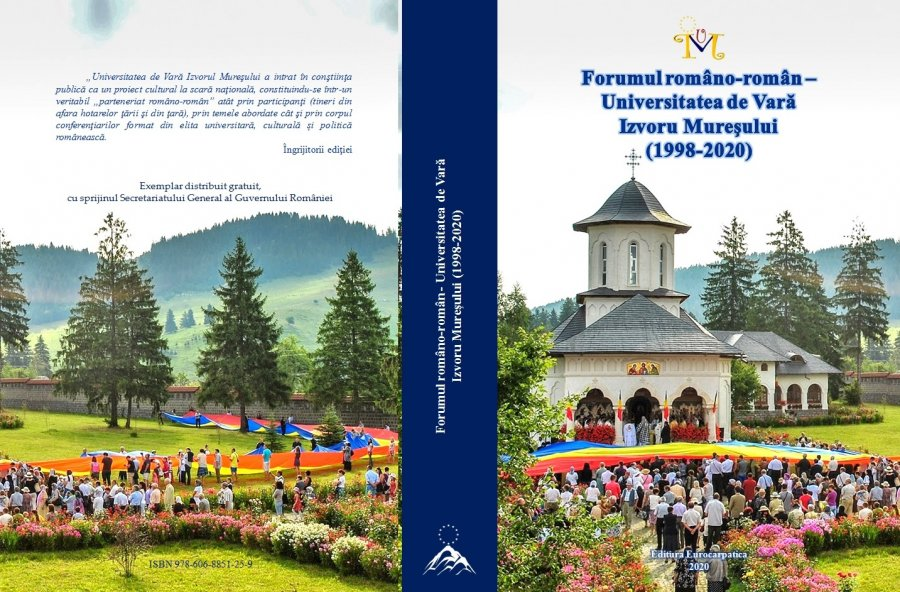 Participarea reprezentanţilor românilor din comunităţile istorice, din jurul graniţelor, la Universitatea de Vară de la Izvoru Mureşului (2000 -2020) - (I)