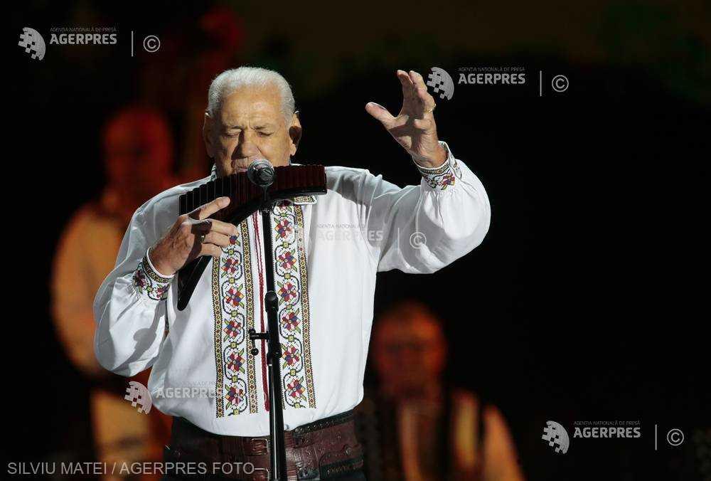 Gheorghe Zamfir va concerta la UNTOLD
