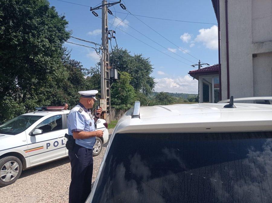 Acțiune de amploare desfășurată de polițiștii rutieri. Peste 370 de sancțiuni contravenționale aplicate de polițiști