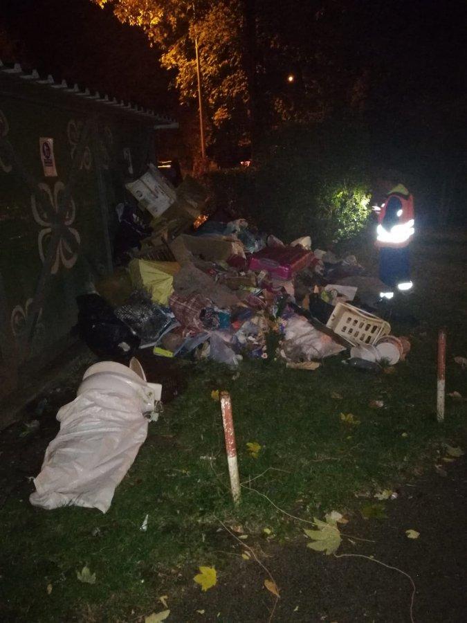 TEGA îndeamnă locuitorii să sune la Poliţie dacă cineva aruncă deşeuri la întâmplare