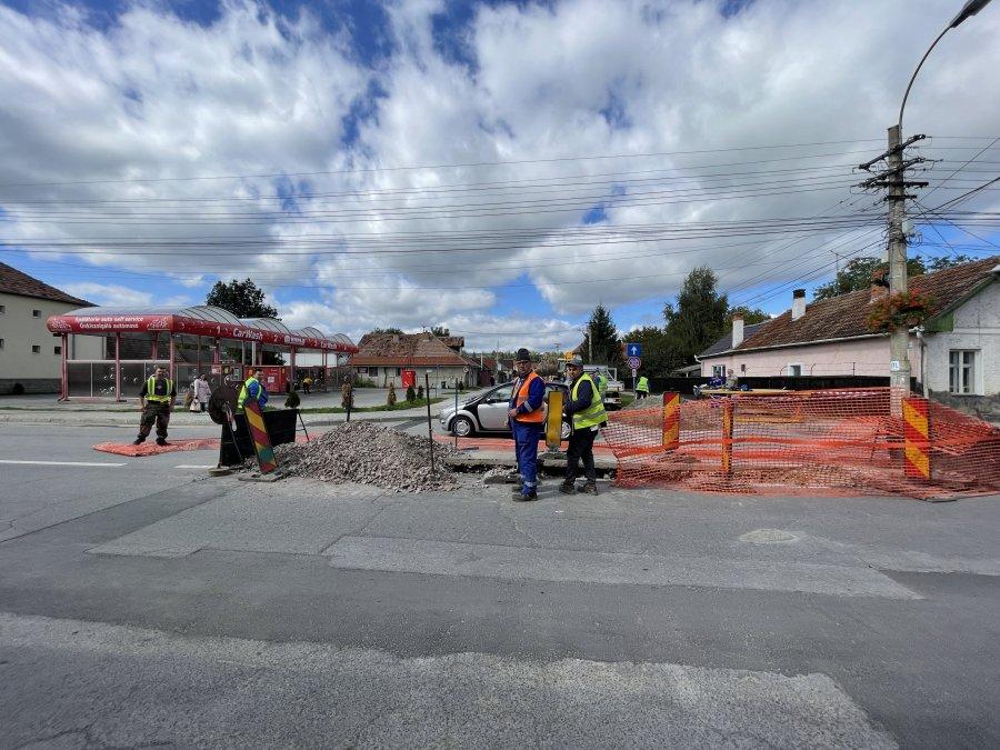 Gospodărie Comunală S.A. a început lucrările pe strada Ciucului